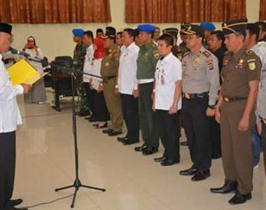Satgas Saber Pungli Padang Dikukuhkan, Walikota : Om No Pungli Om