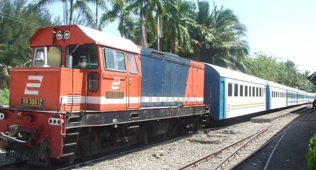 Kereta Api Di Simpang Haru-BIM Masih Belum Bisa Dioperasikan