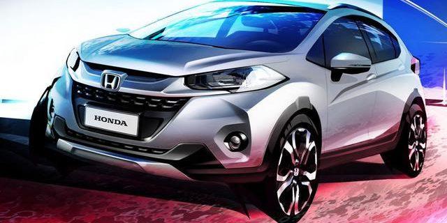 Mobil  Honda HR-V Bakal Punya Adik, WR-V Namanya