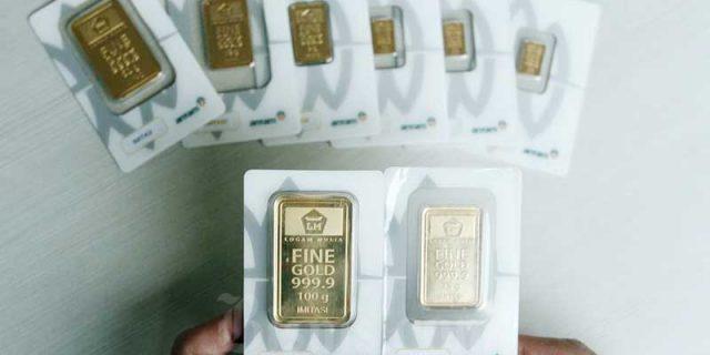Terkoreksi Rp 3.000, Ini Rincian Harga Emas Antam Awal Pekan