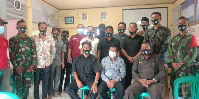 Rapat Pengesahan APB Nagari Talunan Maju Dihadiri Babinsa Koramil 12 Sangir