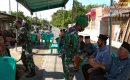Innalillahi Wa Inna Ilaihi Raajiun, Veteran TNI AD Tutup Usia, Babinsa Koramil 01 Kubung Melayat Ke Rumah Duka