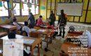 Siswa SD Diajak Patuhi Prokes Oleh Babinsa Koramil 11 Pantai Cermin