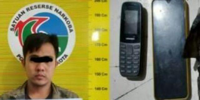 Memalukan, Pegawai Honorer Kota Solok Ditangkap Polisi Karena Simpan Ganja