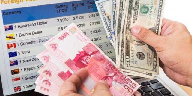 Naik Turun, Dolar AS Menguat Tipis ke Rp 14.405 Hari Ini