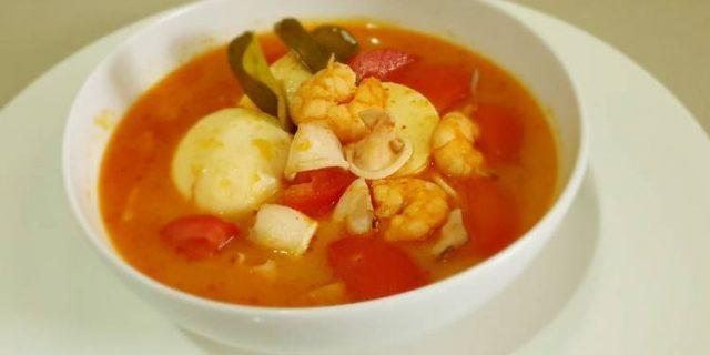 Resep Tomyam Seafood Segar ala Rumahan Untuk Hidangan Makan Siang